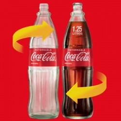 Coca Cola Botella RETORNABLE 1.25L