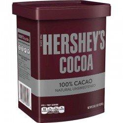 Cacao en Polvo sin azúcar Hershey's 652g