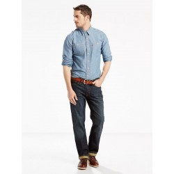 Levi's 514 STRAIGHT Kale - Medium Wash Style # 005140308