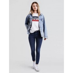 Levi's 720 HIGH RISE SUPER SKINNY Color: Blue Me Away, Style # 527970008