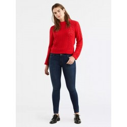 Levi's 710 SUPER SKINNY, Color: Evolution - Dark Wash, Style # 177780365