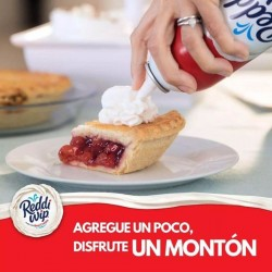 Pie con Reddi-Wip Original Whipped Topping
