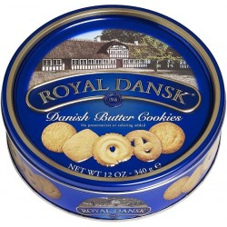 Galletas de Mantequilla Royal Dansk 340g