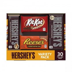 Hershey's, Paquete Variado Full Size 30