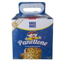 Panettone con Chispas de Chocolate Once Once 500g