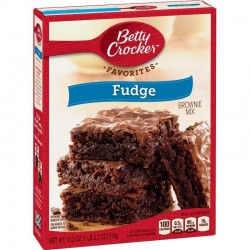 Betty Crocker - Favorites. Mezcla para Brownie Fudge