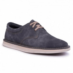 Clarks Forbe Vibe Oxford Storm Suede