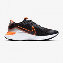Nike Renew Run Black/Particle Grey/White/Total Orange