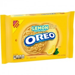 Galletas Oreo Lemon Flavor Creme 566g