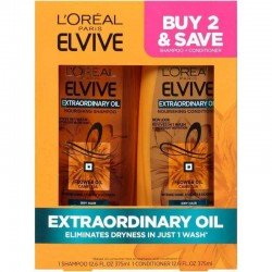 L'ORÉAL ELVIVE Extraordinary Oil Juego 375mL
